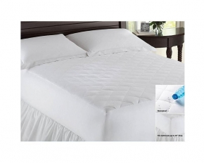 Home Fashions Microfiber Waterproof Mattress Pad - Queen