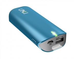uNu Enerpak Tube Portable 5000mAh Charger - Blue