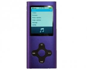 Mach Speed ECLIPSE180G2PL Eclipse 180G2 4GB Video MP3 Player - Purple
