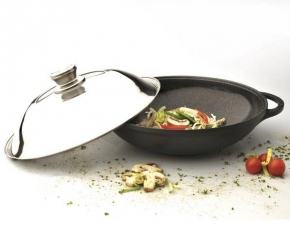 BergHOFF 5.3-Quart Cast Non-Stick Wok