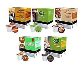 Keurig K-Cup Coffee 5-Flavor Variety Bundle - 90-Count