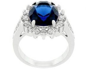 Blue Cambridge Elegance Ring - Size 8