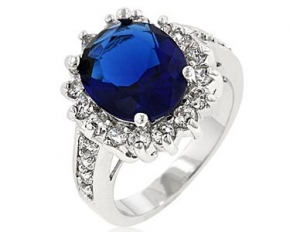 Blue Cambridge Elegance Ring - Size 7