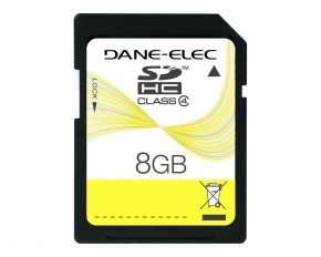 Dane 8 GB SDHC Memory Card