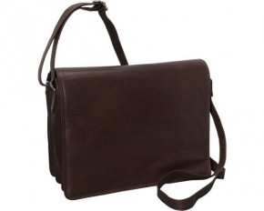 R&R Collections Shoulder Bag - Large - Brown