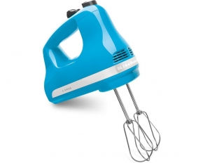 KitchenAid KHM512CL 5-Speed Hand Mixer - Crystal Blue