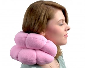 Amazing Memory Foam Travel Pillow - Set of 2