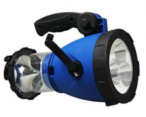 Camping LED Light with Crank Charger