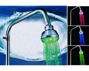 LED 7-Color Changing Bathroom Showerhead