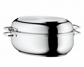WMF Stainless Steel Deep Oval Roasting Pan