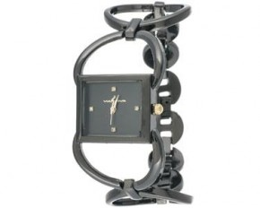 Via Nova Women's Black Analog Watch