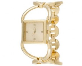 Via Nova- Women's Gold Analog Watch