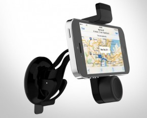 URGE Basics Dashboard Cell Phone Mount - Black
