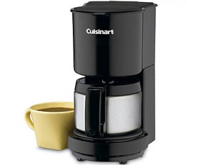 Cuisinart 4-Cup Coffeemaker with Stainless Steel Carafe - Factory Refurbished
