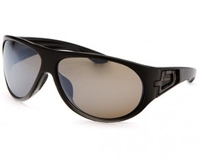 Columbia Men's Wraparound Sunglasses - Black