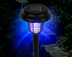 Solar Garden Bug Zapper LED and UV Light