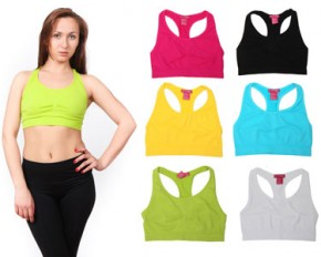 Esti Couture Sports Bras - Large/X-Large - 6-Pack
