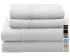 Colonial Home Textiles Pro Athletix Sheet Set - Twin - White