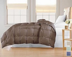 Modern Luxury 300 Thread Count Down-Blend Comforter - Khaki - King