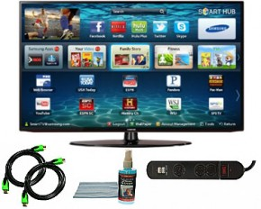 "Samsung 32"" 1080p 60Hz Smart Wifi LED HDTV - Bundle"