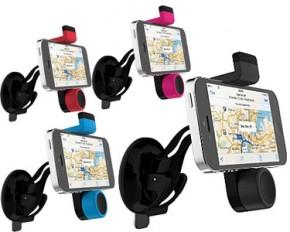 Urge Basics Universal Dashboard Windshield Spring Car Mount - Black