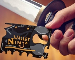Wallet Ninja 18pc Multi Tool