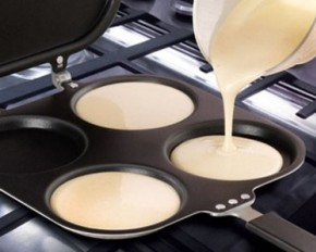 Perfect Pancake Maker with Batter Dispenser - Two Pans