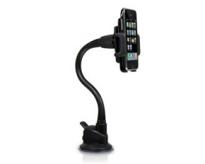 Macally Suction Cup Mount, Universal Suction Cup Holder for iPhone, iPod, Smartphone, Blackberry, Droid.
