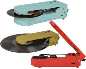 Crosley CR6020A-TU Revolution Portable USB Turntable - Turquoise
