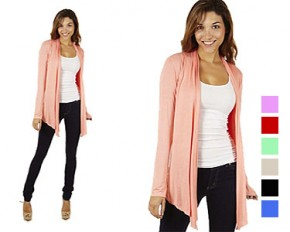 Dinamit Women's Flyway Cardigan - Large - Stone