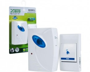Remote Control Wireless Doorbell - Blue