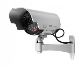 Security Camera Decoy w/ Blinking LED & Adjustable Mount