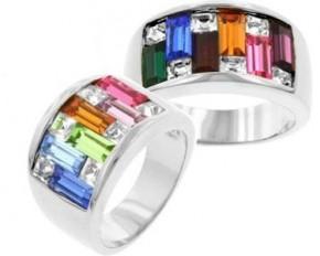 Candy Maze Ring - Dark/Size 9