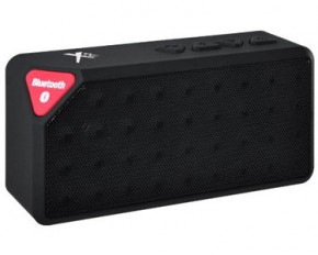 Xit AXTRECBK Rectangular Bluetooth Speaker - Black