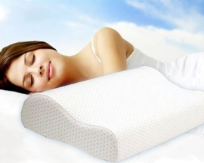 Deluxe Contour Memory Foam Pillow with Cover