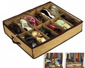 Sto-Away Under Bed Shoe Storage Solution