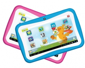 "Supersonic Munchkinz 7"" Android 4.1 Kids Tablet - Pink"