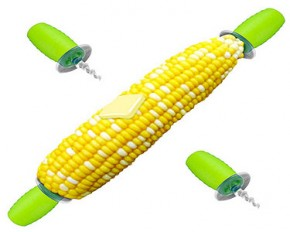 Screw In Corn Holders, Set of 2