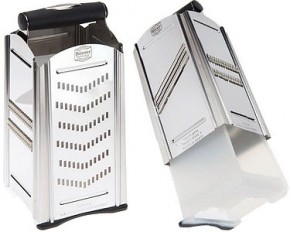 Combi Chef Stainless Steel 4-In-1 Food Slicer & Grater