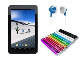 "iView 7"" Tablet Bundle w/Stylus and Headphones"