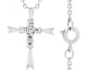 Coupled Cross Pendant
