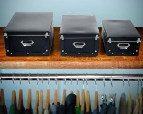 Sto-Away Collapsible Retro Storage Boxes - Set of 3