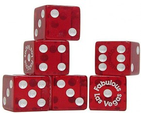 25 Pack - Las Vegas Dice