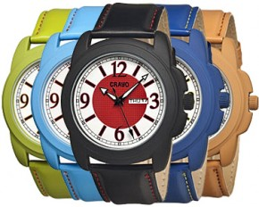 Crayo Unisex Class Quartz Watch - Camel
