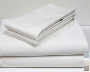 800 Thread-Count 100% Cotton Sheet Set - King - White