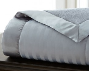 Down Alternative Fleece Reverse Blanket - Slate - Full/Queen
