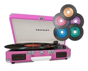 Crosley Cruiser Turntable Kit - Pink