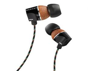 House of Marley EM-FE023 Zion Earbuds - Midnight