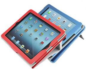 Gear Head Slim Portfolio Carrying Case for iPad Mini - Blue