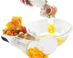 Bonzai All-In-One 3 Blade Peeler and EZ Egg Cracker Set